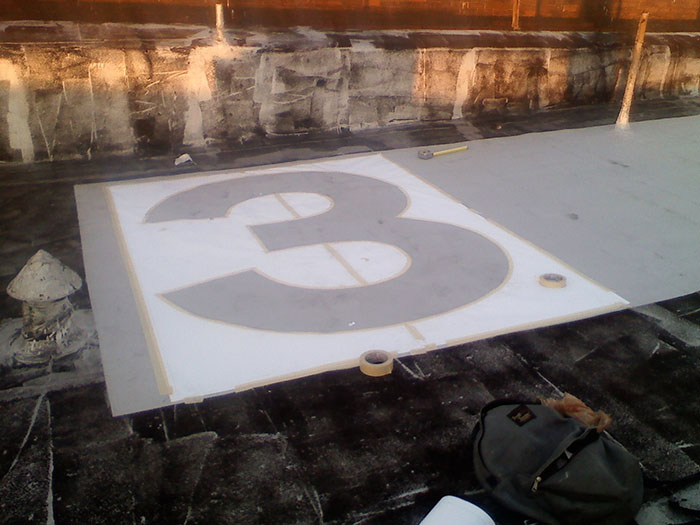 Stencil_of_Number_Three